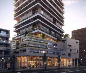 The Vertical Shared Facilities - Wonen - UPtown Sloterdijk